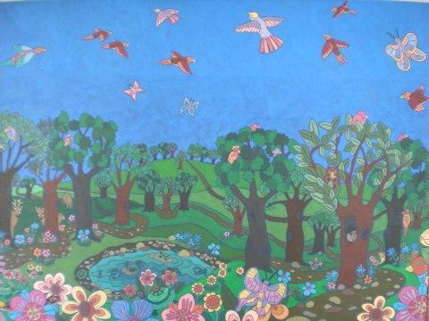 Storytime Room mural
