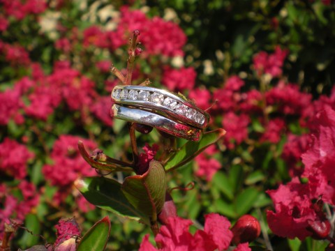 clean wedding ring