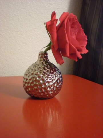 """first accessory--""""gourd"""" bud vase"""