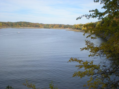 view of the lake