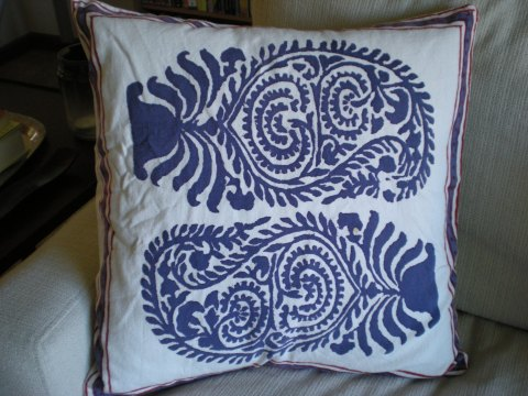 exotic patterned pillow sham