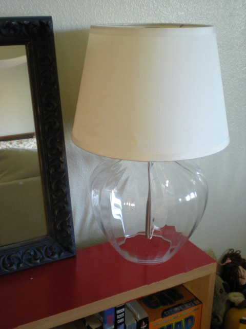 Ikea lamp from Dumpster