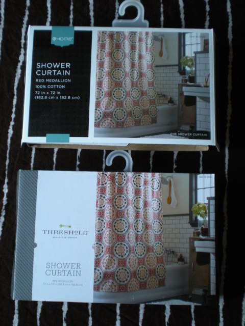 packages for curtains bought at different times