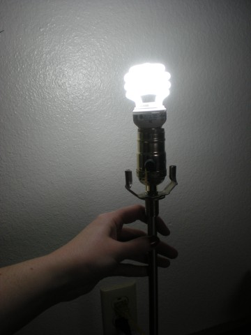 first assembly lightbulb on