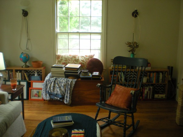 living room as seen from the direction of the dining room