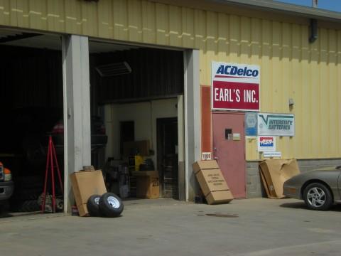 Earl's garage