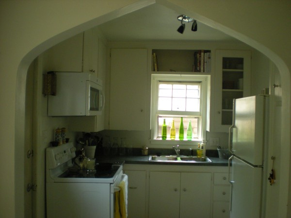 kitchen, seen from dining